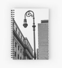 Looking for light in the city Spiral Notebook