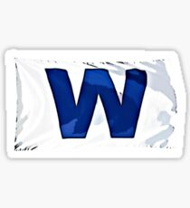 Chicago Cubs - Fly the W Sticker