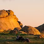 rocky sunrise by annmarie-f