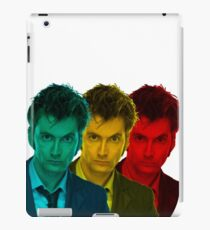 David Tennant colours iPad Case/Skin