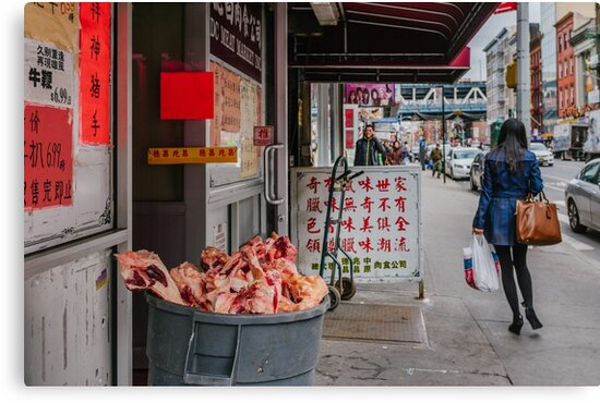 Meat Market in New York by Chee Sim