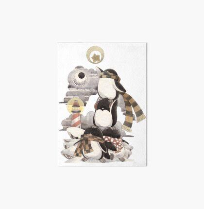Penguins intrepid Art Board