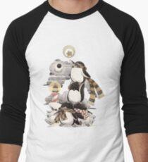 Penguins intrepid Men's Baseball ¾ T-Shirt