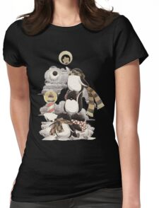 Penguins intrepid Womens Fitted T-Shirt