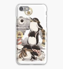 Penguins intrepid iPhone Case/Skin