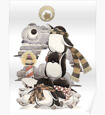 Penguins intrepid Poster