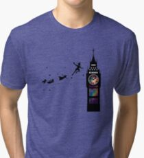 Peter Pan The Second Star Tri-blend T-Shirt