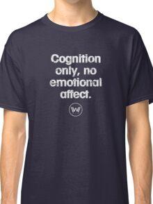 Cognition only - westworld park code  Classic T-Shirt