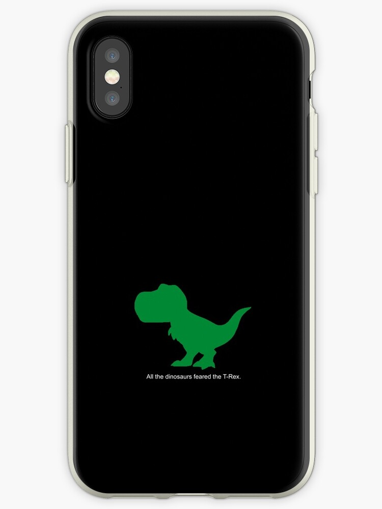 new product bcaf1 e2534 'All the dinosaurs feared the T-Rex.' iPhone Case by Classy Bear