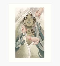 The Lady of the Lake Art Print