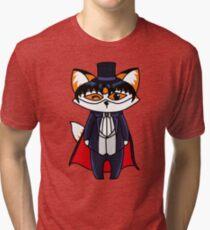 Tuxedo Fox Tri-blend T-Shirt