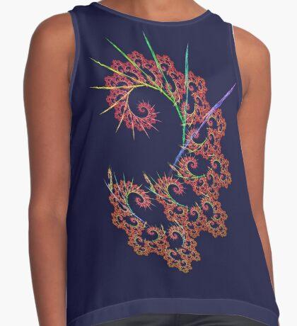 Dangerous #fractal art Sleeveless Top