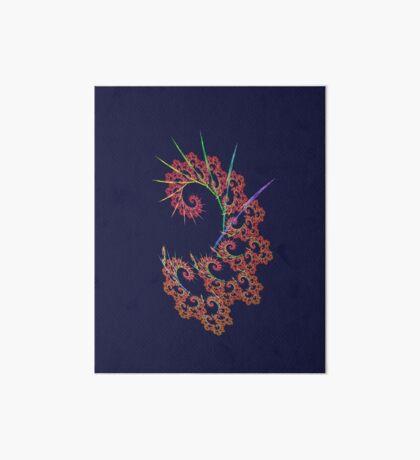 Dangerous #fractal art Art Board Print