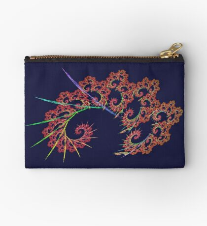 Dangerous #fractal art Zipper Pouch