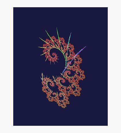 Dangerous #fractal art Photographic Print