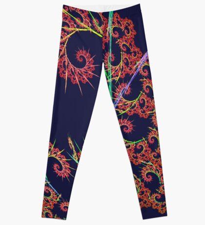 Dangerous #fractal art Leggings