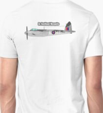 MOSQUITO, WWII, Combat Aircraft, De Havilland Mosquito, RAF, Fighter, Bomber, Wold War II, British, multi-role T-Shirt