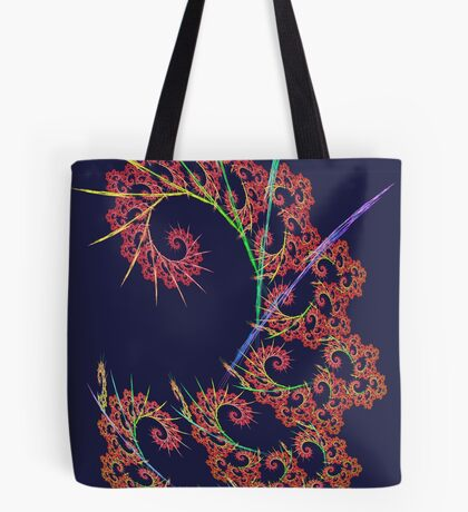 Dangerous #fractal art Tote Bag