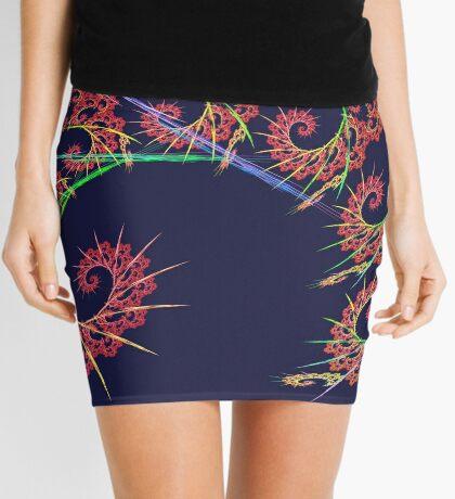 Dangerous #fractal art Mini Skirt