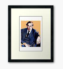 Jeremy Thorpe. Framed Print