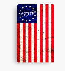 1776 Patriot  Canvas Print