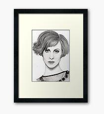 Hayley Williams - Portrait2 Framed Print