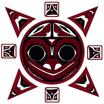 Northwest Indian Frog Sun by beccers222