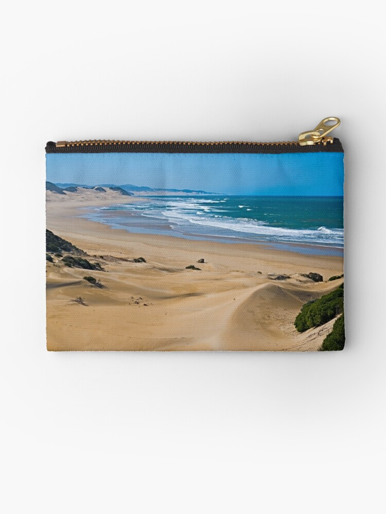 Endless,Cloudless Beach by Warren. A. Williams