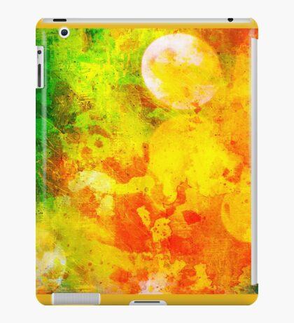 Colorful and smeared iPad Case/Skin