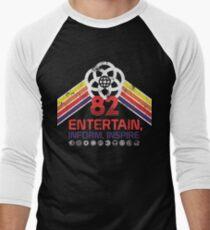 EPCOT Shirt - Distressed Logo - Entertain Inform Inspire Men's Baseball ¾ T-Shirt