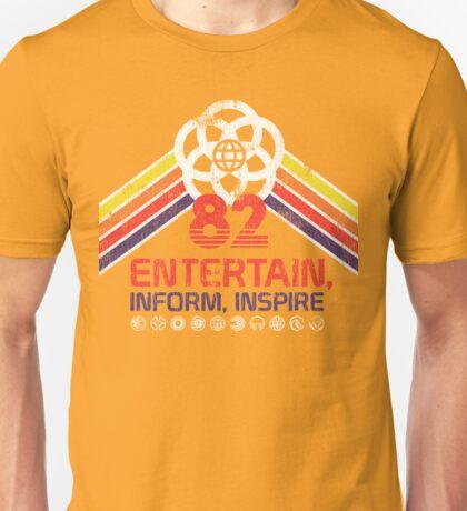 EPCOT Shirt - Distressed Logo - Entertain Inform Inspire Unisex T-Shirt