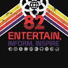 EPCOT Shirt - Distressed Logo - Entertain informieren Inspire von retrocot