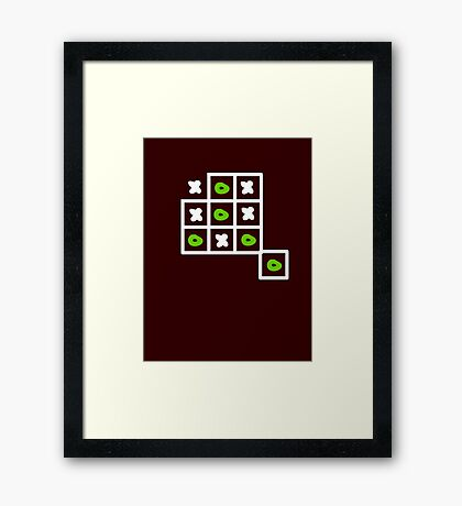 Out of the box VRS2 Framed Print