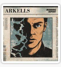 Arkells Morning Report  Sticker