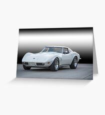1973 Chevrolet Corvette Stingray Greeting Card