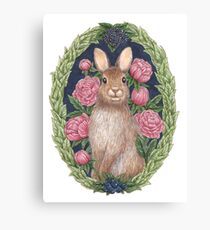 Mr. Bun Bun Canvas Print