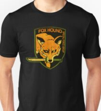 °METAL GEAR SOLID° Fox Hound Rust Logo T-Shirt