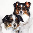 Mo & Dali by Sherry Cummings