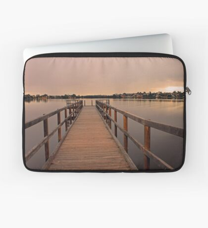 Approching Rain Cloud At Shelley - Western Australia Laptop Sleeve