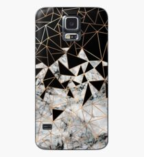 Marble polygon pattern Case/Skin for Samsung Galaxy