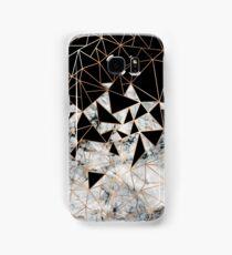 Marble polygon pattern Samsung Galaxy Case/Skin