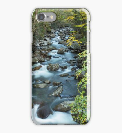 West Prong Little Pigeon River  iPhone Case/Skin