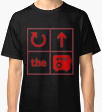 Turn Up the Radio Grid Classic T-Shirt