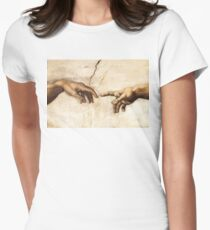 Creation of Adam Fitted T-Shirt