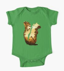 Squirrels in the Fall One Piece - Short Sleeve
