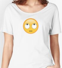 rolling eyes emoji Women's Relaxed Fit T-Shirt