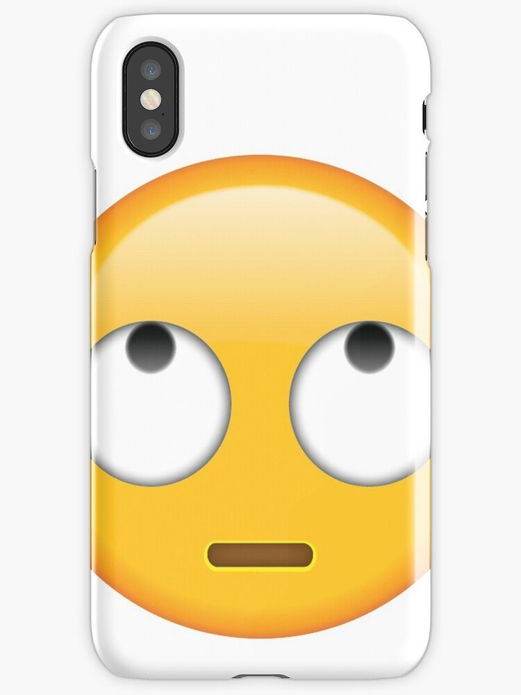 """rolling eyes emoji"" iPhone Cases & Skins by emably ..."