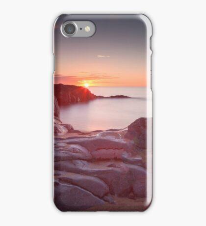 Sunrise over Bracelet Bay iPhone Case/Skin
