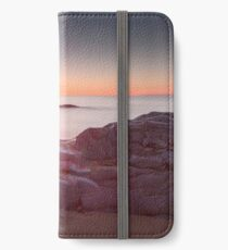 Sunrise over Bracelet Bay iPhone Wallet/Case/Skin