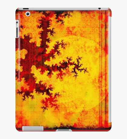 Oriental Moon Behind My Courtain II iPad Case/Skin